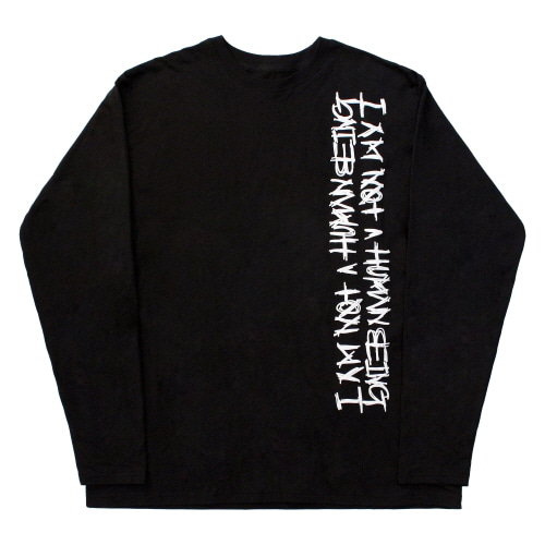 [17FW] Vertikal Basic Logo Long Sleeve - Black