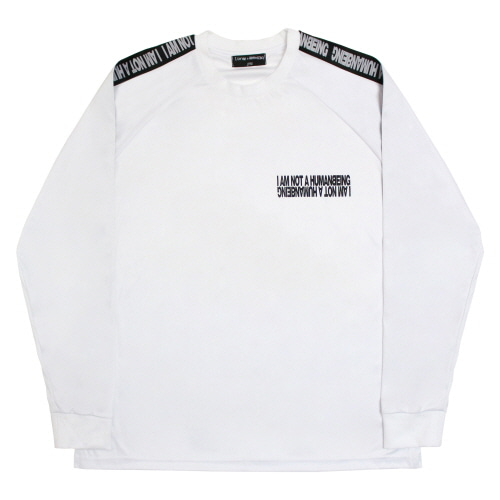 [17FW] Basic Logo Tape Jersey Tee - White