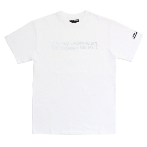 Retro Reflective Basic Logo T-Shirts - White