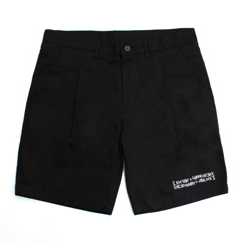 Basic Logo Shorts - Black
