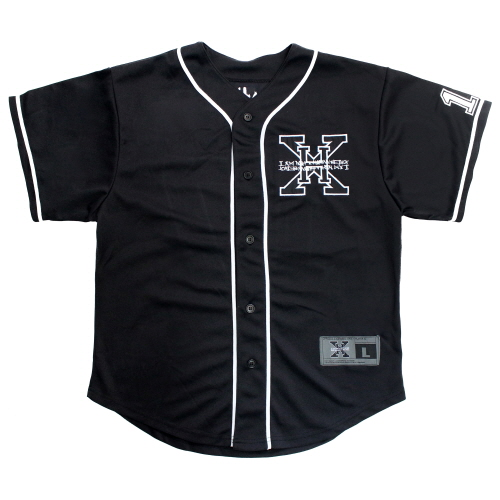 XHB Base Ball Jersey - Black