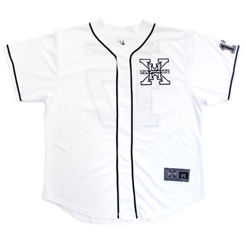 XHB Base Ball Jersey - White