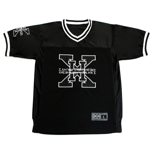 XHB Foot Ball Jersey - Black