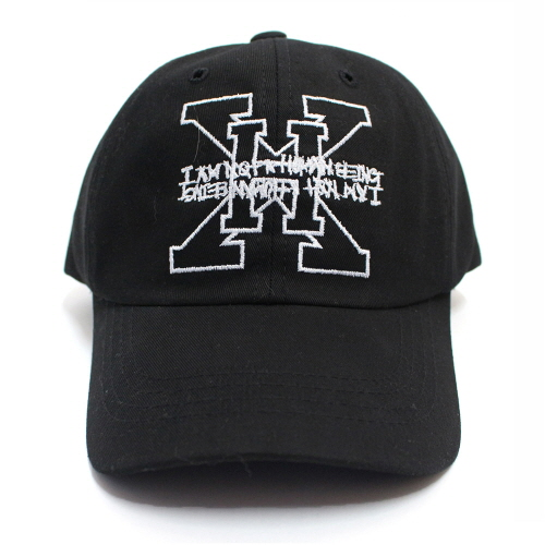 [17SS] XHB Logo Ball Cap - Black