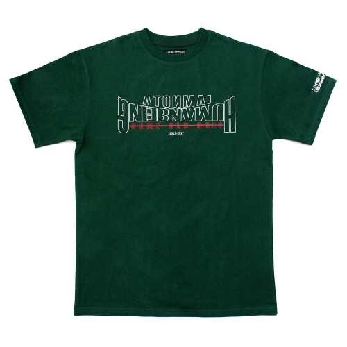 Arch Ver. Basic Logo T-Shirts - Wood Green