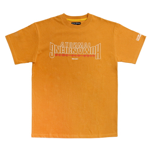 Arch Ver. Basic Logo T-Shirts - Orange