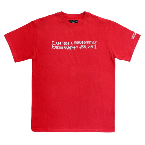 Retro Reflective Basic Logo T-Shirts - Red