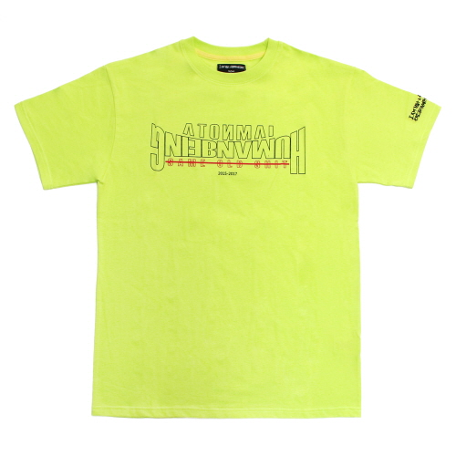 Arch Ver. Basic Logo T-Shirts - Green Yellow