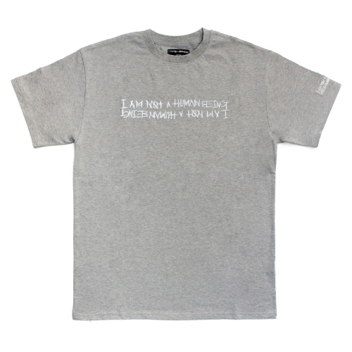 Retro Reflective Basic Logo T-Shirts - Grey