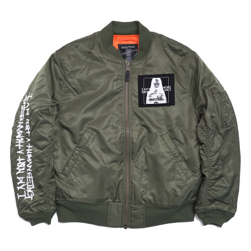 [17W] Porno 6 Flight Jacket - Khaki