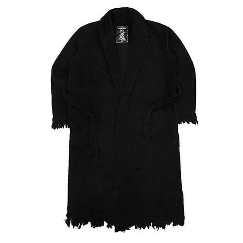 [18FW] IMXHB CIRCLE LOGO ROBE - BLACK