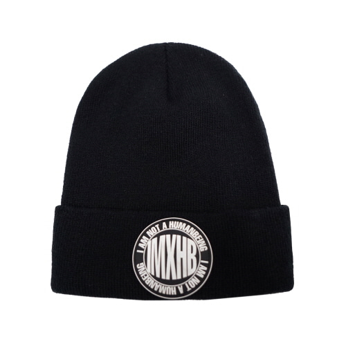 IMXHB CIRCLE LOGO BEANIE - BLACK