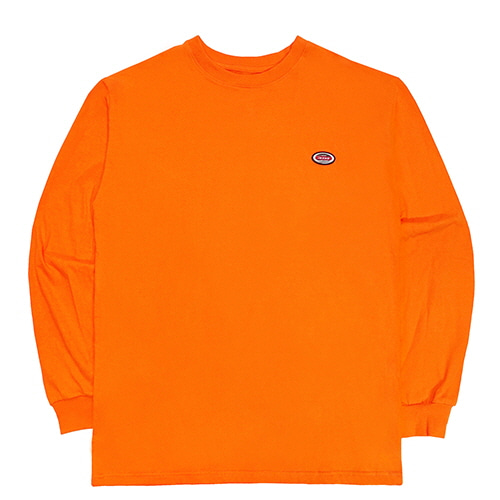 [18FW] OVAL LONG SLEEVE T SHIRTS - ORANGE