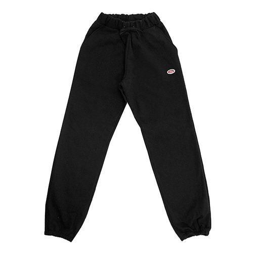 [18FW] OVAL SWEATPANTS - BLACK