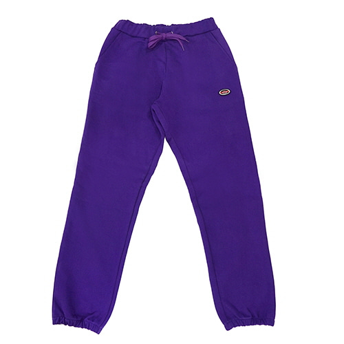 [18FW] OVAL SWEATPANTS - PURPLE