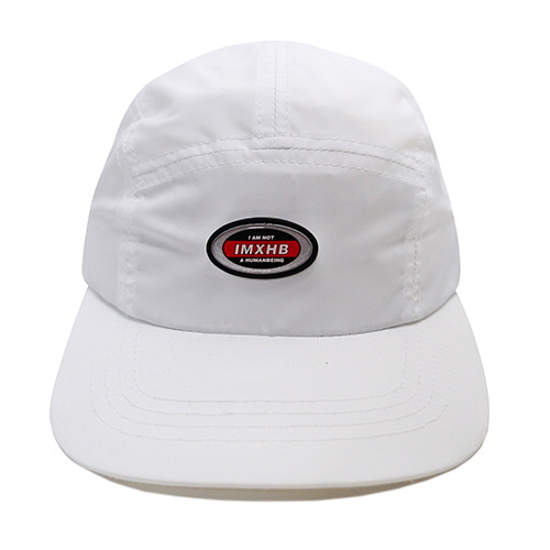 [18FW] OVAL 5 PANEL HAT - WHITE