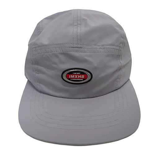 [18FW] OVAL 5 PANEL HAT - GREY