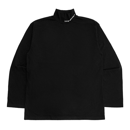 [18FW] OVERSIZED MOK NECK - BLACK