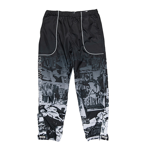 [아임낫어휴먼비잉] TORN PICTURES TRACK PANTS - O/C