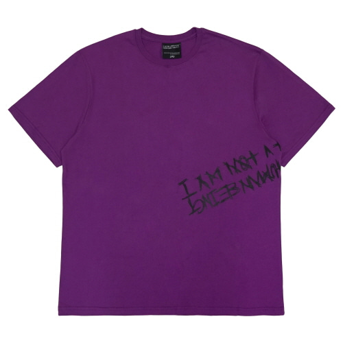 [18SS] BANDED T-SHIRT - PURPLE