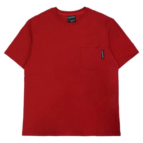 [18SS] POKET T-SHIRT - RED