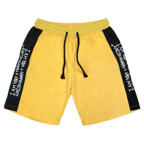 [18SS] MULTI SIDELINE SHORTS - YELLOW