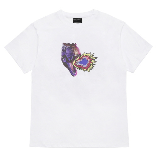 [18SS] FIRE CRACKER T-SHIRT - WHITE