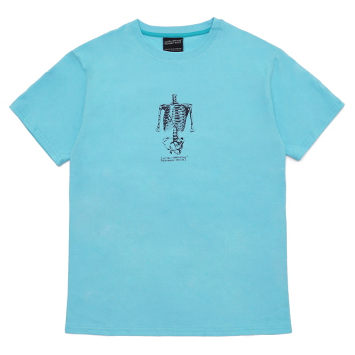 [18SS] TORSO T-SHIRT - WASHING BLUE