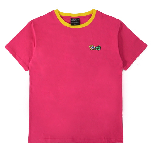 [18SS] FIRE CRACKER LOGO T-SHIRT - HOT PINK