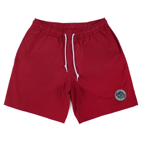 [18SS] DINO LOGO SHORTS - RED