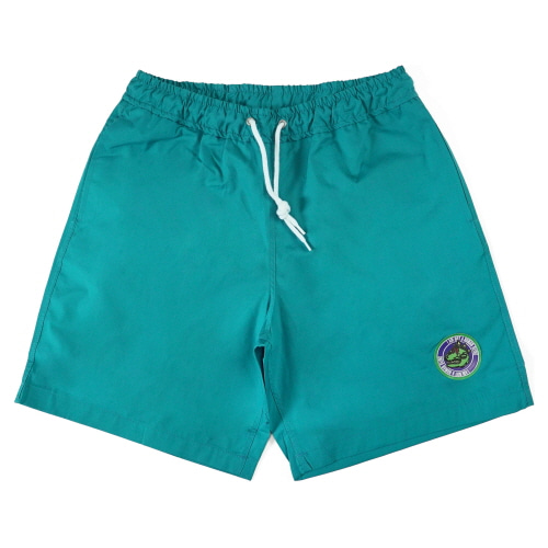 [18SS] DINO LOGO SHORTS - BLUE GREEN