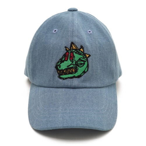 [18SS] DINO BALL CAP - DENIM
