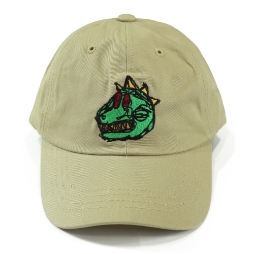 [18SS] DINO BALL CAP - BEIGE