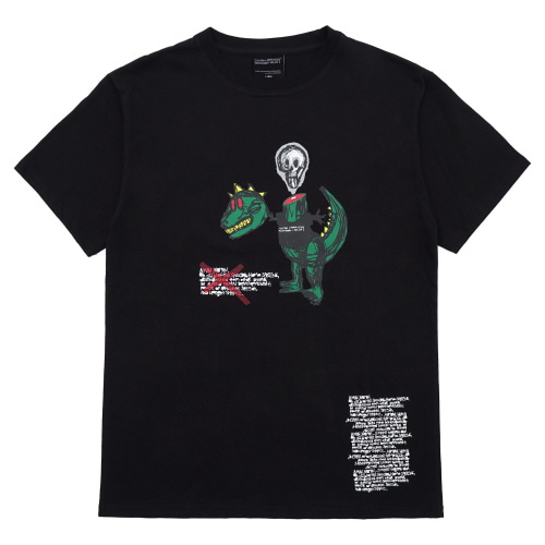 [18SS] NOT A HUMANBEING T-SHIRT - BLACK