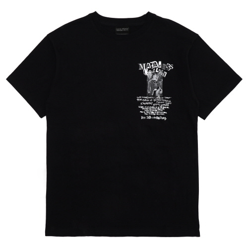 [18SS] COLLAGE TOUR T-SHIRT - BLACK