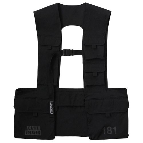 [18SS] IMXHB URBAN TECH ARMOUR VEST - BLACK