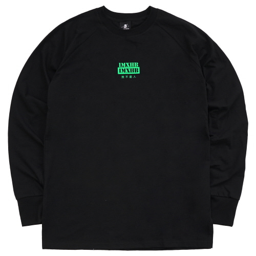[18SS] IMXHB URBAN TECH LONG SLEEVE - BLACK