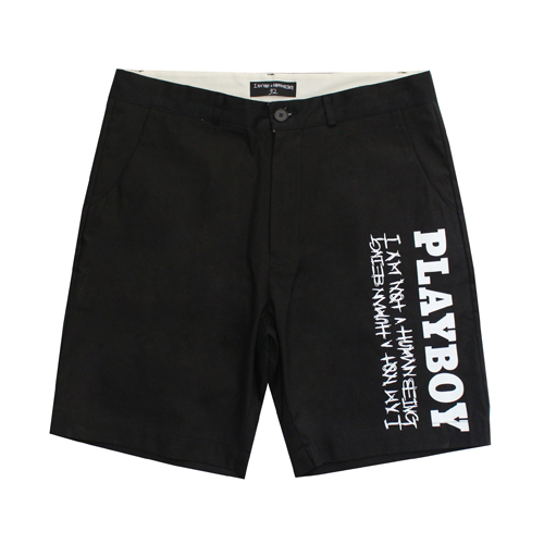 [HBXPB] Rabbit Head x IMXHB Logo Shorts - Black