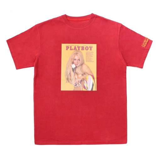 [HBXPB] PLAYBOY Vintage Cover T-Shirts 2 - Red