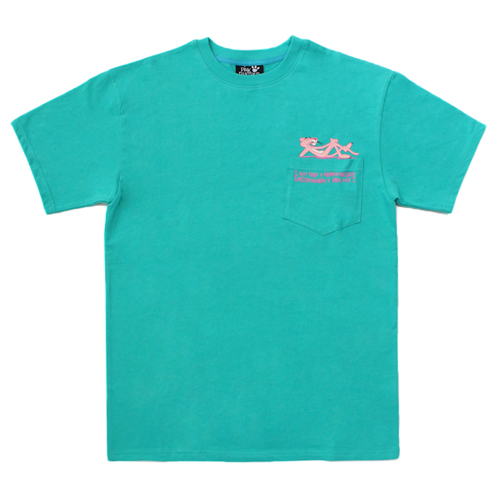 [PPXHB] Pink Panther Poket T-Shirt - Emerald