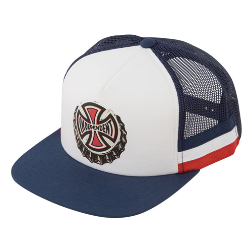 [INDEPENDENT] THE ONLY CHOICE FLEX FIT TRUCKER MESH CAP - Navy