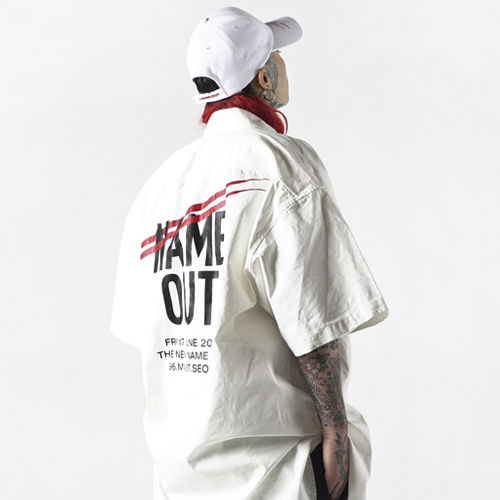 [Nameout] Staff Shirts - White
