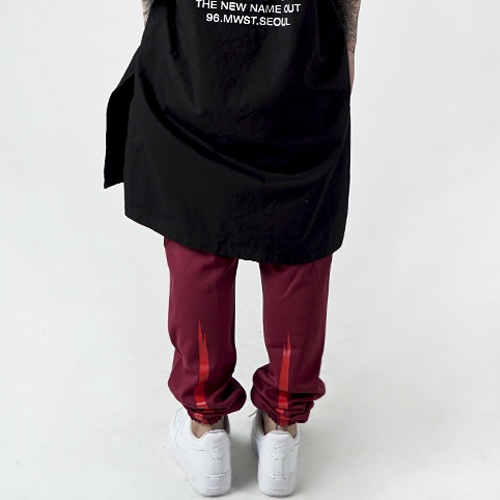 [Nameout] Jersey Pants - Burgundy