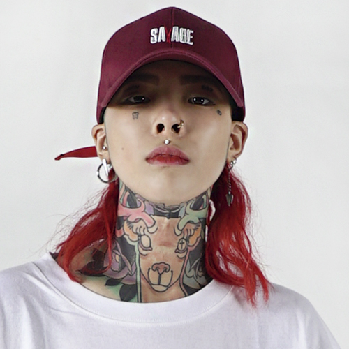 [Nameout] SAVAGE Cap - Burgundy