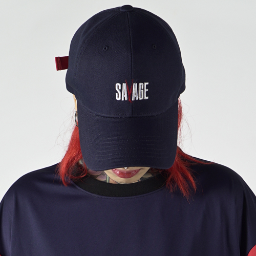 [Nameout] SAVAGE Cap - Navy