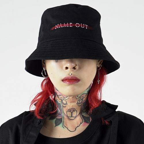 [Nameout] Logo Bucket Hat - Black