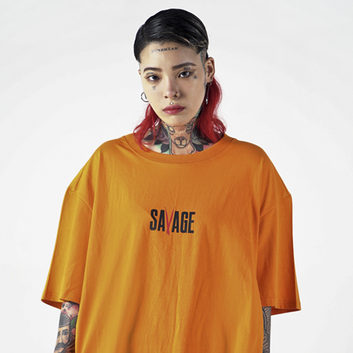 [Nameout] SAVAGE Tee - Orange