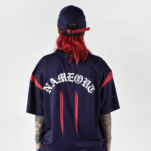 [Nameout] Jersey Shirts - Navy