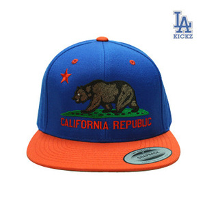 California Flag Snapback Knicks Color