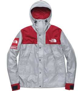 Supreme X TNF 3M The North Face S/S 13 Mountain Parka 3M Red